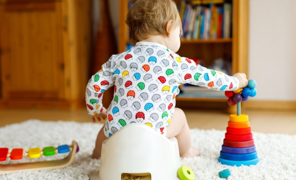 5 tips for early potty training